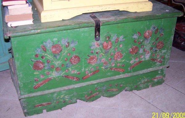 Cassapanca tirolese art gasparetto antichit for Cassapanca tirolese